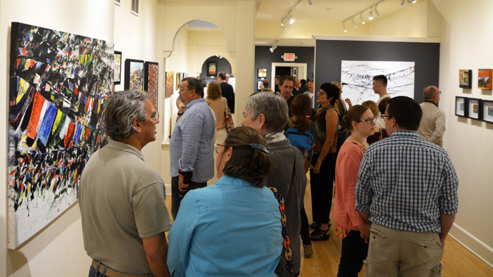Red Raven Opening Reception
